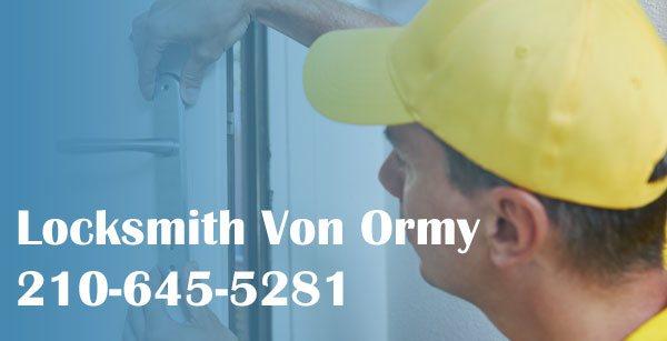 Locksmith Von Ormy TX